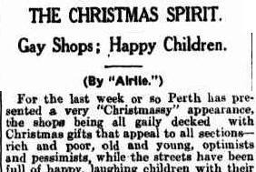 Western Mail, 22 Dec 1932