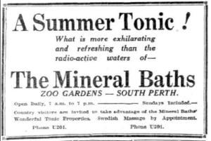 1928 Zoo Ad
