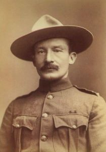 Robert Baden-Powell in 1896
