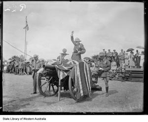 Anzac Day on the Esplanade, 1928