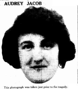Audrey Jacob, 1925