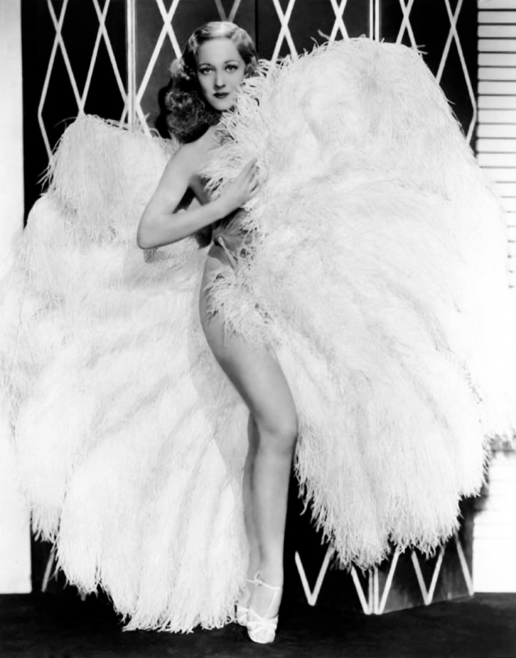 Legendary American striptease artiste, Sally Rand
