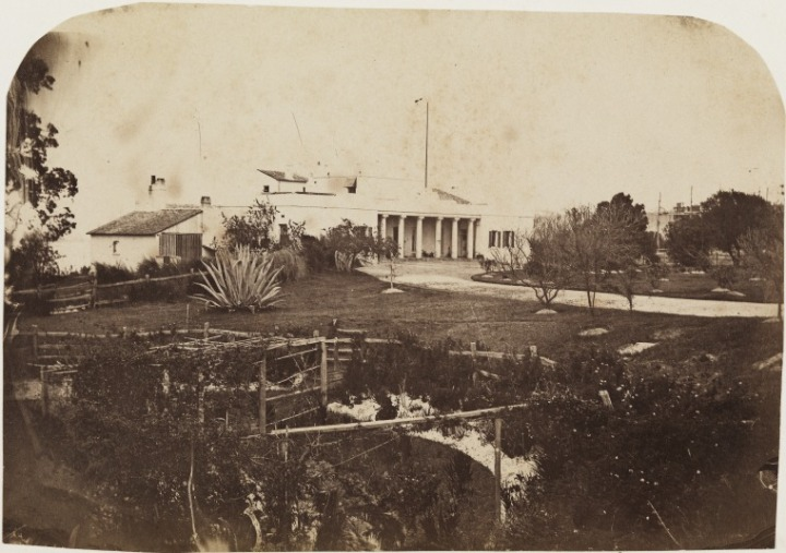 Original Government House, 1861
