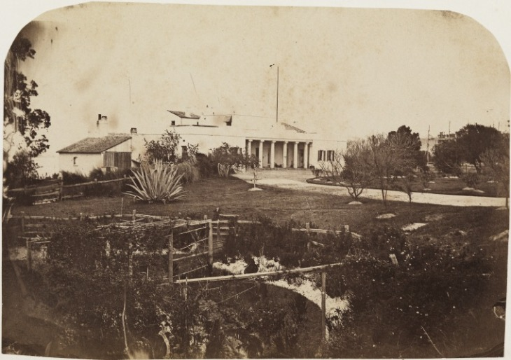 Original Government House, 1861
