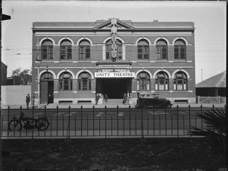 Unity Theatre, 1930