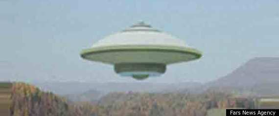 It's flying. It looks like a saucer. What shall we call it?