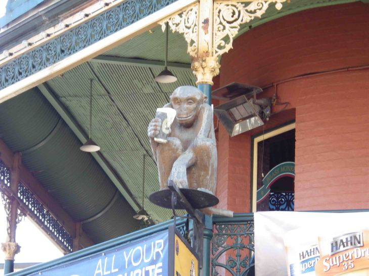 Given enough monkeys one of the will produce a hotel